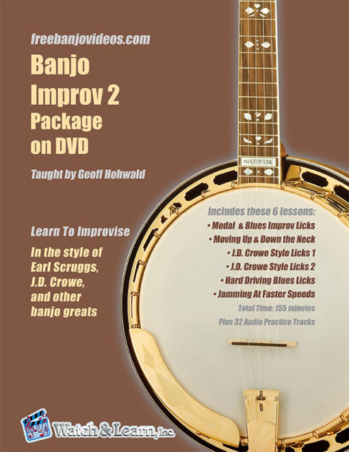 Banjo Improvisation Package 2 by Geoff Hohwald