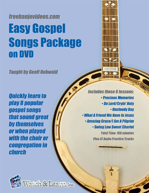 Easy Gospel Songs Book and DVD by Geoff Hohwald