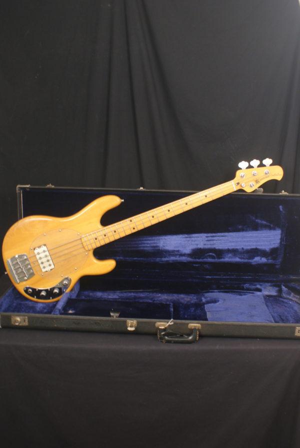 1976 Pre Ernie Ball Music Man Stingray Bass signed by Tony Levin