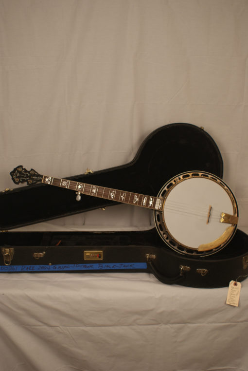 2004 Gibson JD Crowe Blackjack 5 string Banjo