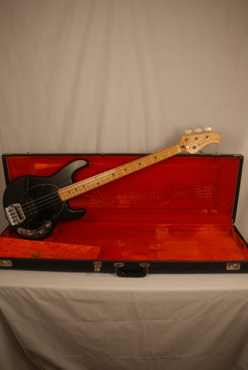 1978 Black Music Man Stingray Bass Pre Ernie Ball Stingray Bass for Sale