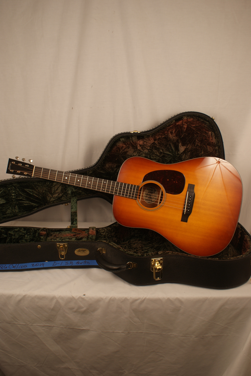 2014 Collings Acoustic Guitar D-1 SB