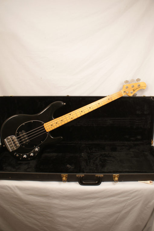 1978 Pre Ernie Ball Music Man Stingray Bass Black Pre Ernie Ball Music Man Stingray Bass for Sale