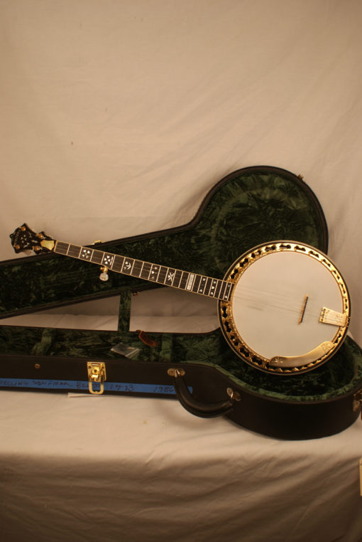 1986 Stelling Sonflower 5 string Banjo Stelling Banjo for Sale