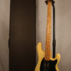 Pre Ernie Ball Music Man Sabre Bass Olympic White with Vintage Music Man Strap