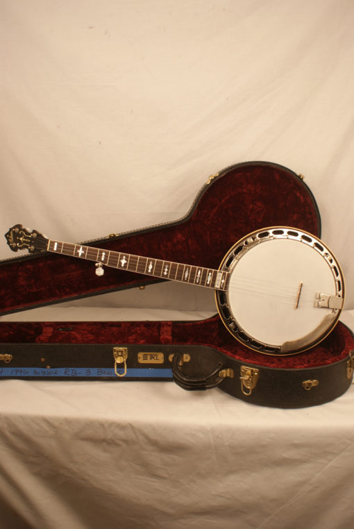 1996 Gibson RB3 5 string Banjo Gibson Banjo for Sale