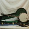 New Huber VRB 4 Custom 5 String Banjo