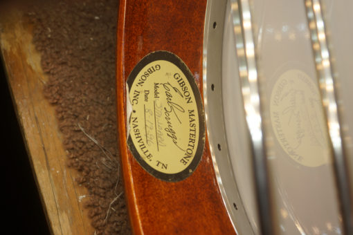 1996 Gibson Scruggs Standard 5 string Banjo Gibson Banjos for Sale