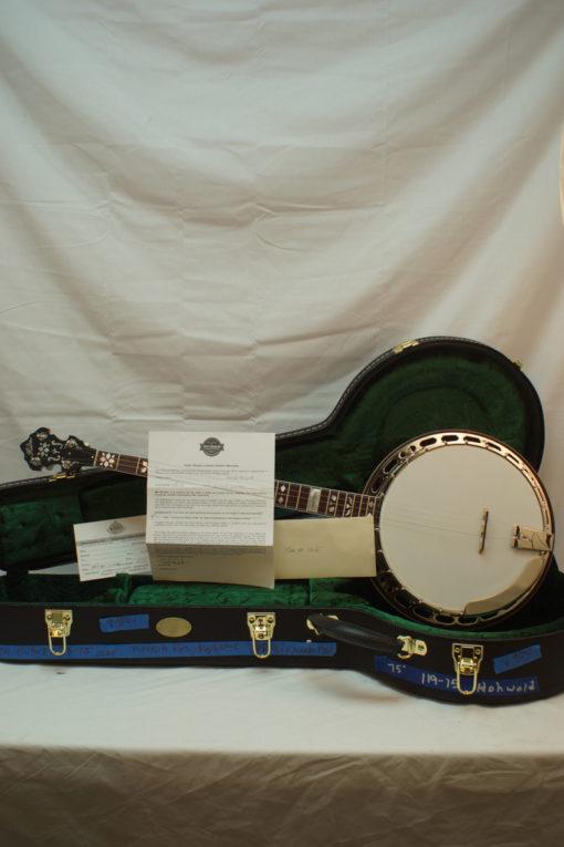 New Huber VRB75 Truetone 5 string Banjo for Sale