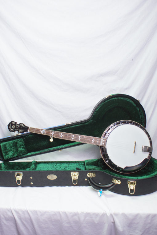 1929 Gibson TB4 5-string conversion Banjo Sullivan Conversion Tone Ring