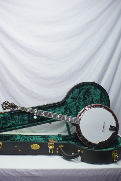 New Recording King RKR75 Elite 5 string Banjo for Sale